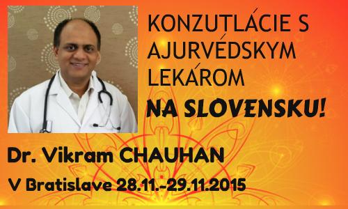 Dr. Vikram Chauhan ajurvedsky lekar osobne konzultacie